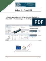 CFL01 - Introduction à l'Utilisation Du Logiciel FluidSIM - Pneumatique Et Électropneumatique