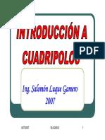 Presenta Cuadripolos