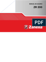 ZR 200OHC Manual