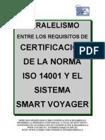 Paralelismo 14001 Smart Voyager C&D, similarity, resemblance -  between smart voyager and ISO 14001 Standard, Make a donation@ccd.org.ec / Haga una donación, turismo sustentable smart voyager