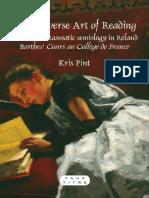 [Faux titre no. 353] Pint, Kris_ Gemerchak, Christopher M._ Barthes, Roland - The perverse art of reading _ on the phantasmatic semiology in Roland Barthes' Cours au Collège de France (2010, Rodopi).pdf