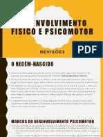 Desenvolvimento Físico e PsicoMotor