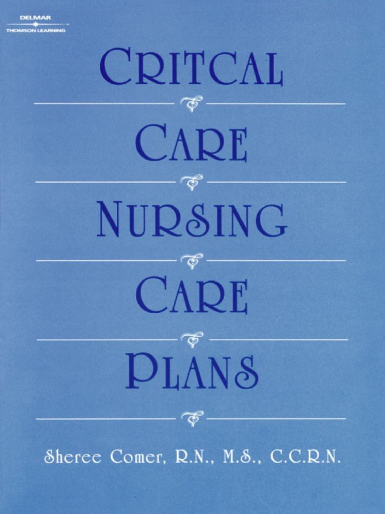 RN, MS, CCRN, Sheree Comer - Critical Care Nursing Care ...