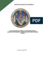 Manual Organización 2017
