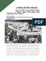 Maio e a Ideia Da Revolução