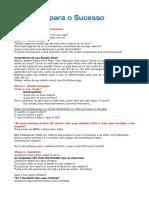 8 Chaves Do Sucesso - FebraCIS