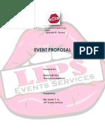 Event Proposal Theresa Dev