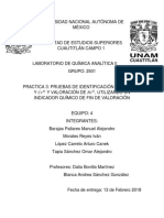 Quimica Analitica II Practica 3 Reporte