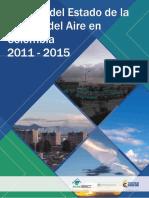 Informe Del Estado de La Calidad Del Aire en Colombia 2011-2015 Vfinal