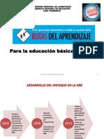 COMPARATIVO DCN (2009) – Ruta de Aprendizaje (2013)