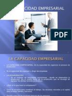 La Capacidad Empresarial