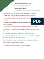 Soal Ulangan Pkwu Xii( Produk Kesehatan)