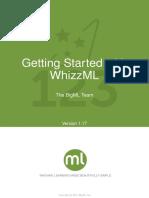 BigML WhizzML Primer