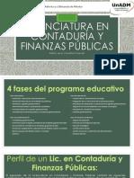 Campaña de Difusion, Licenciatura en contaduría y finanzas públicas.pptx
