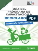 Guia Programa Capacitacion Recicladores