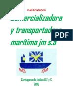 Comercializadora y Transportadora Marítima Jm s.A