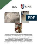 Informe 2 Tecnología de Materiales