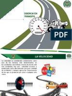 La Velocidad y Su Incidencia en Los Accidentes de Tránsito-1