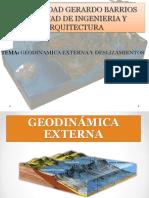 Geodinamica Externa y Deslizamientos