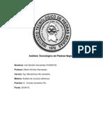 Reporte de Práctica 6 Análisis de Circutios Eléctricos