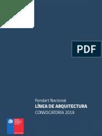 Fondos 2018 Fondart Nacional Arquitectura