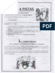 4 Pistas= Catequesis Familiar Comunitaria