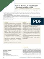 Legionelosis Nosocomial Problema Contaminacion Ambiental