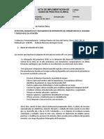 Acta Implementacion Retinopatia Del Prematuro