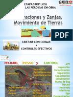 Excavaciones y Zanjas, Movimiento Tierras