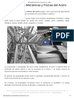 10 Propiedades Mecánicas y Físicas Del Acero - Lifeder