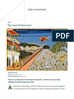 The Many Padmavatis