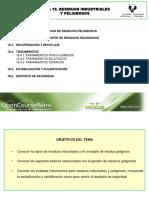 Tema 18. Residuos Industriales y Peligrosos