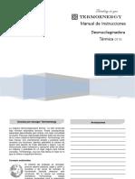 Manual Desmucilaginadora termica