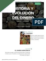 HISTORIA Y EVOLUCIÓN DEL DINERO