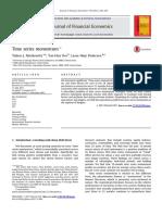 Moskowitz Time Series Momentum Paper