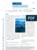 EcoQuest Ltd Bericht Dr Reuter Investor Relations Februar 2010