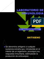 Lab Oratorio de Inmunologia Discus. 1