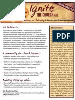 Ignite the Church Vision