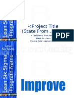 Bonacorsi Consulting Improve Master Template