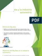 Big Data y La Industria Automotriz