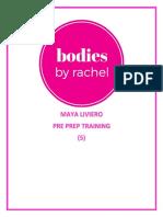 5. 17.8.17 - Maya Liviero - Pre Prep - Training