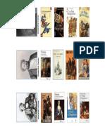 Marque Pages Alexandre Dumas 2012 4 Titles