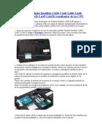 Reemplace Toshiba Satellite C630 C640 L600 L640 L600D L640D L645 L645D Ventilador de La CPU