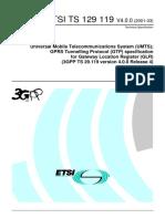 ETSI - GPRS Tunneling Protocol (GTP)