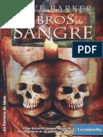 Libros de Sangre Vol. 3 - Clive Barker