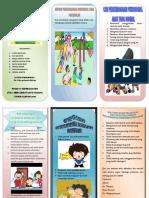 Leaflet perkembangan psikososial anak prasekolah