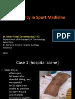23 Emergency in Sportmedicine