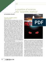 Alexakos - Teaching the Practice of Science, Unteaching 'the Scientific Method'