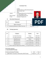 CV Loping Juli 2017