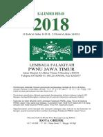 Kalender Masehi 2018 LF PWNU JAT